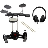 Hitman Drum 1 Electronic Drum Kit / sTOOL             (Drumsticks and Headphones Included)