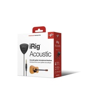IRIG Acoustic guitar interface for iOS devices