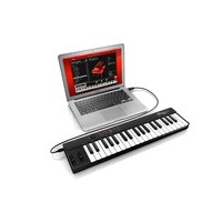 (USB only) 37 Mini Keys. MIDI keyboard controller for MAC/PC includes USB cable