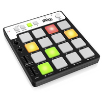 iRig PADS - MIDI pad controller for IOS & Mac/PC Incl lightening & USB cables first thumb image