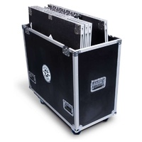Intellistage Flight Case for 6 pcs. of 1M x 1M platforms with matching risers.