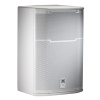 JBL-PRX415MWH Loudspeaker System Passive FOH Wedge; 2way; 380mm LF; White w/ 12 x M10 Suspension Points
