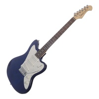 J&D Vintage Jag-Style Electric Guitar (Blue)