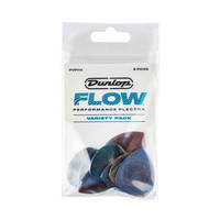 JIM DUNLOP Ultex Flow� with Grip - 8 Pick Variety Players Pack.