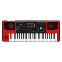 KORG 61 Key Professional Arranger Keyboard Red