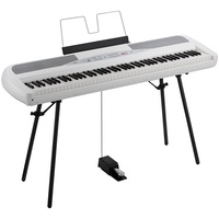 SP280 88 note stage piano with stand White