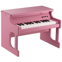KORG TinyPiano 25 minikey digital piano polished wood case � pink