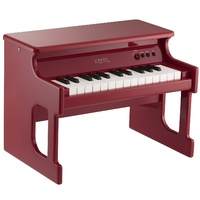 KORG TinyPiano 25 minikey digital piano polished wood case � red