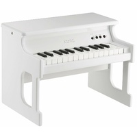 KORG TinyPiano 25 minikey digital piano polished wood case � white