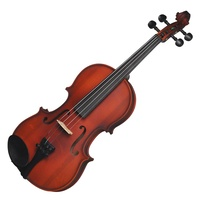 Steinhoff 1/2 Size Beginner Student Violin with Case (Natural Gloss)