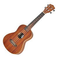 Lorden '2 Series' Zebrawood Concert Ukulele with Gig Bag