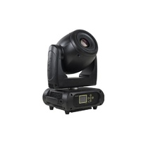 M1S150W - Moving Head Profile Spot 1 x 150W W LED, Colour wheel,  rotating gobo wheel, 3/8 facets prism, frost,  dimmer, strobe, RDM3 Pin DMX