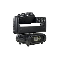 M6B10RGBW - Moving Head Multi beam 6 x 10W RGBW LEDs, pixel control with twin 'Y' heads3 Pin DMX
