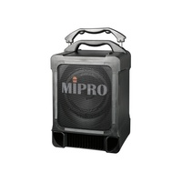 MIPRO Portable PA, 100 Watts with Wireless Mic Receiver and CDM2BP CD/USB Audio Player with Bluetoot first thumb image
