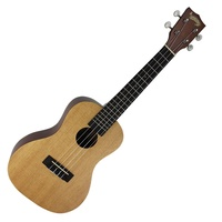 Mojo '50 Series' Solid Spruce Top Concert Ukulele with Gig Bag