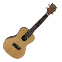 Mojo '70 Series' Solid Spruce Top Concert Ukulele with Gig Bag first thumb image