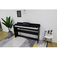 MAESTRO 88 KEY HAMMER ACTION COMPACT DIGITAL PIANO BLACK  ( H/PHONE DELUXE PACK inside )
