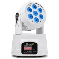 MHL74-WMoving Head Wash with 7 x 10W RGBW LEDs - White