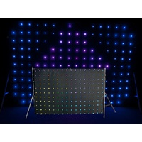2x3m LED Curtain with 176 3-in-1 RGB LEDs