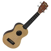 Mojo '70 Series' Solid Spruce Top Electric Soprano Ukulele with Gig Bag