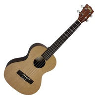 Mojo '50 Series' Solid Spruce Top Electric Tenor Ukulele with Gig Bag