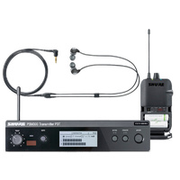 SHURE WIRELESS PERSONAL MONITOR SYSTEM PSM300 - P3R, P3T, SE112 - IN EAR MONITOR