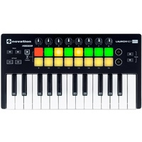 NOVATION LAUNCHKEY MINI 25 note mini keyboard with 16 pads