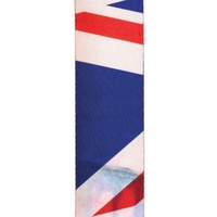 Distressed Union Jack Guitar Strap - by D'Addario