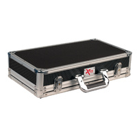 Xtreme Effect Pedal Road Case with removable lid.