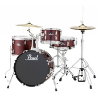 "Pearl Roadshow 18"" 4pc Gig Kit Red Wine first thumb image"