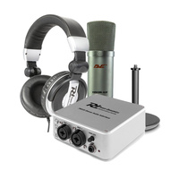 AVE Podcast Studio Kit Microphone Interface Webinars