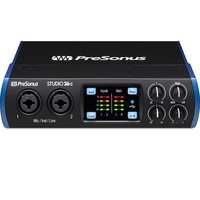 PreSonus Studio 26C USB-C interface with 2 x XMAX class A preamps