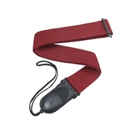 Planet Waves Acoustic Quick Release Guitar Strap, Red