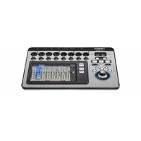 TouchMix 8 Digital Mixer Compact 14ch; 8 mic/line, 4 line, Stereo USB; 6 out
