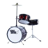 Sonic Drive 3-Piece Junior Drum Kit (Metallic Wine Red)