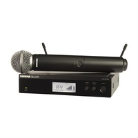 Shure SHR-BLX24RS58K14 Wireless 1/2R Handheld System BLX2 SM58 Mic 614-638MHz