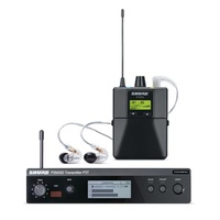 Shure SHR-P3TRA215J10 PSM300 Wireless System 584-608 MHz; with SE215-CL