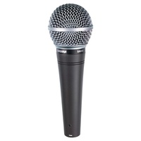 Shure SHR-SM48-LC Microphone Dynamic Lo Z Vocal Cardioid SM48