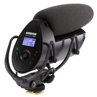 Shure SHR-VP83F Microphone Condenser Lo Z Camera-Mount Shotgun Mic w/ Flash Recording