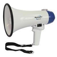 SoundArt 10 Watt Portable Hand-Held Megaphone with10-Second Record/Playback