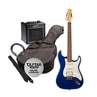 Ashton SPAG232TDB Electric Guitar Pack