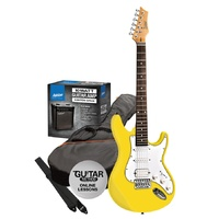 Ashton SPAG232YL Electric Guitar Pack