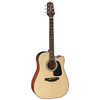 Takamine D1 Series Dreadnought AC/EL Guitar with Cutaway