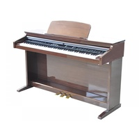 RINGWAY DIGITAL PIANO incl BENCH HEADPHONE Rosewood  Black White