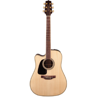Takamine G50 Series Left Handed Dreadnought AC/EL Guitar with Cutaway