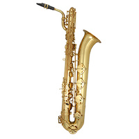 TJ-3942GM Trevor James The Horn Revolution II Baritone Sax, Gold Lacquer, Outfit *AVAILABLE WHILE STOCK LASTS*