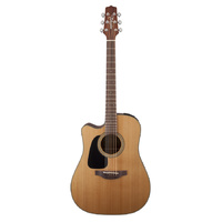 Takamine Pro Series 1 Left Handed Dreadnought AC/EL Guitar with Cutaway