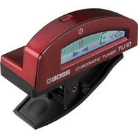 BOSS TU10RD Clip-On Chromatic Tuner