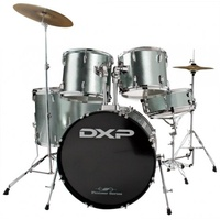 DXP DRUM KIT W/STOOL & CYMBALS
