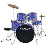 DXP DRUM KIT W/STOOL &